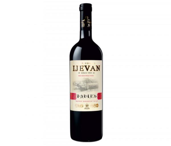 Իջևան Կարմիր կիսաքաղցր գինի 0.75լ