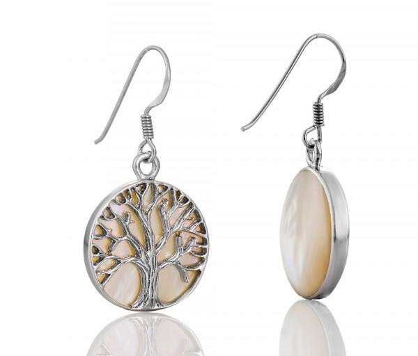 Silver earrings SE110W