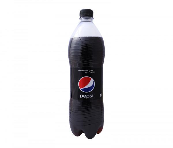 Պեպսի Գազավորված ըմպելիք Սև 1լ