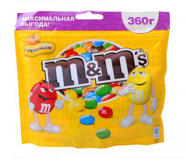 M&M'S Ընկույզ 360գ