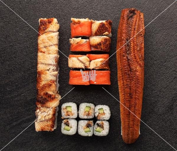 Ունագի սեթ AKO Sushi