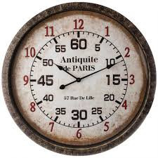 """Պատի ժամացույց Կվարց """"Antiquite De Paris"""""""