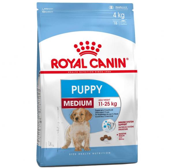 Շան չոր կեր Medium puppy 15 կգ