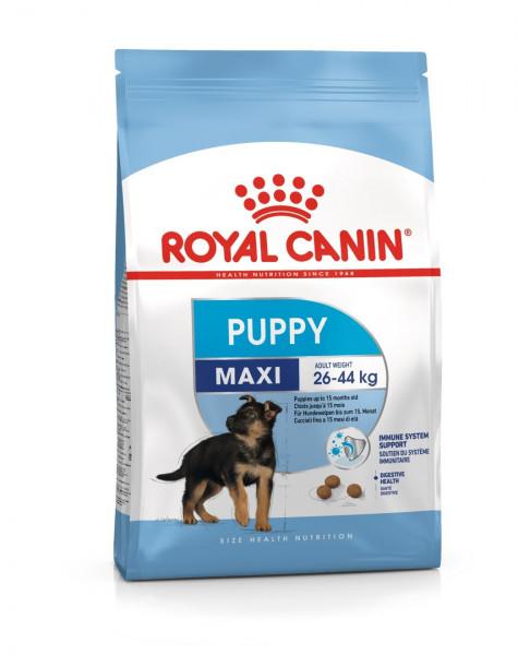 Շան չոր կեր Royal Canin Maxi Puppy 15 կգ