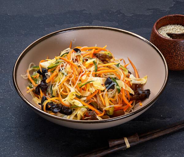 Բանջարեղենային աղցան չինական ձևով Դրագոն Գարդեն