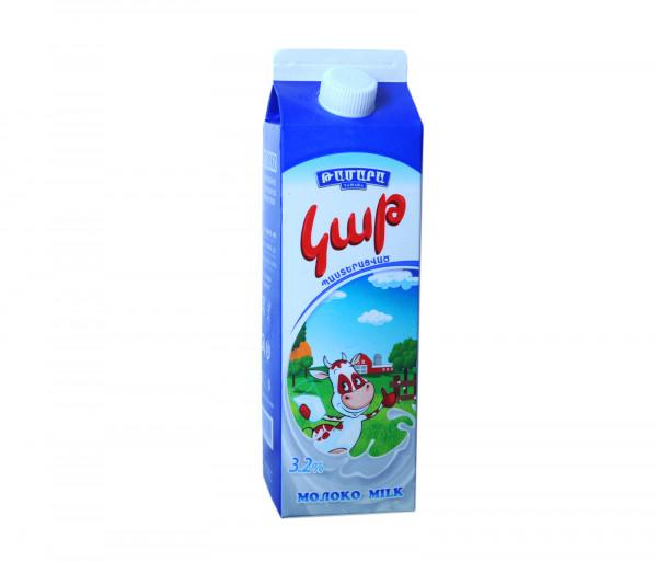 Թամարա Պաստերացված կաթ 3.2% 1լ