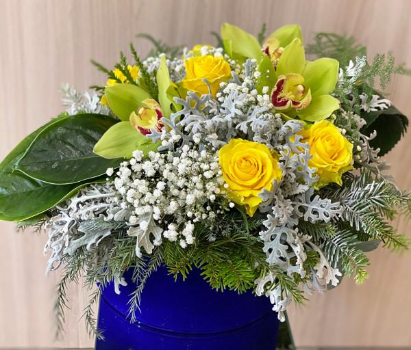 Ծաղկային կոմպոզիցիա N12 Cataleya Flowers