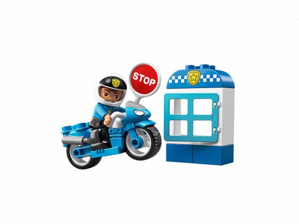 Lego Duplo Կառուցողական Խաղ ''Ոստիկանական Մոտոցիկլետ''