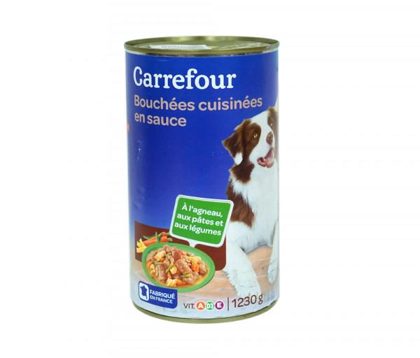Քարֆուր Խոնավ շան կեր Սոուսով 1.23կգ