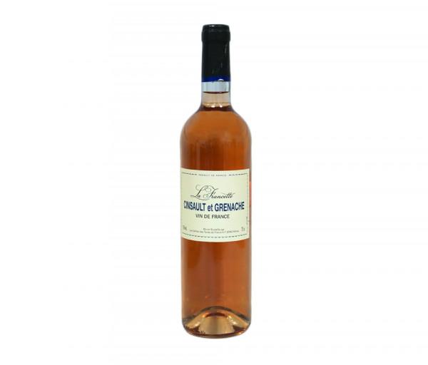 Քարֆուր Լա Ֆրանսետե Վարդագույն գինի 0.75լ