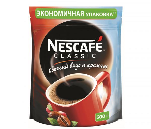 Նեսկաֆե Կլասիկ Լուծվող սուրճ 500գ