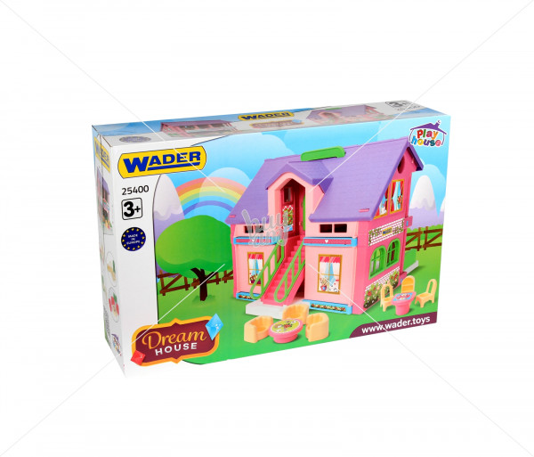 Խաղային հավաքածու «Տիկնիկի տնակ» Wader