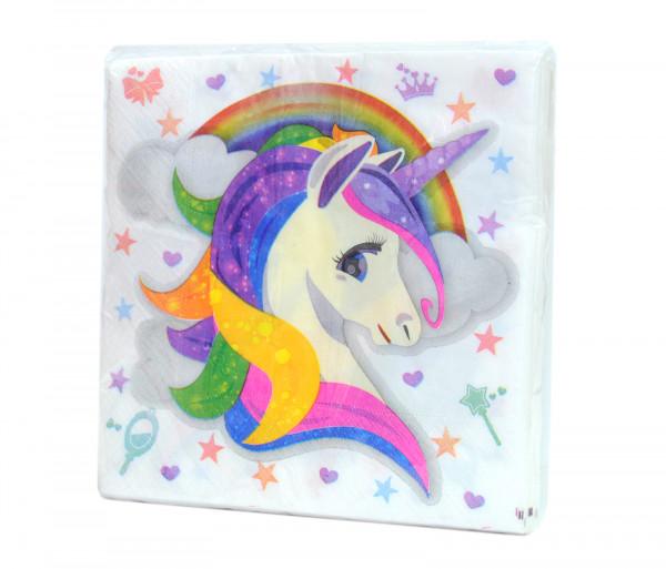 Անձեռոցիկներ «Unicorn» (20 հատ)