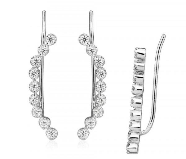 Silver earrings SE356
