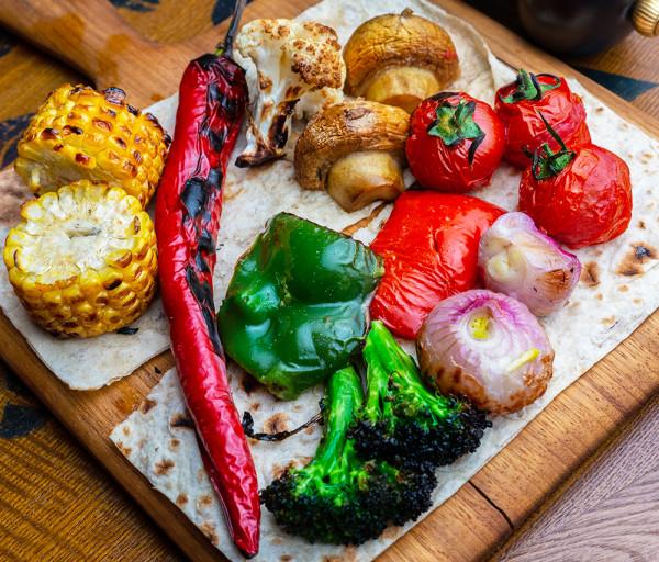 Խորոված բանջարեղեն Յասաման ռեստորան
