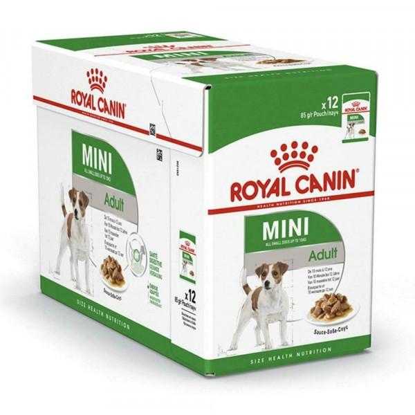 Շան խոնավ կեր Mini adult gravy 12 x 8 գ