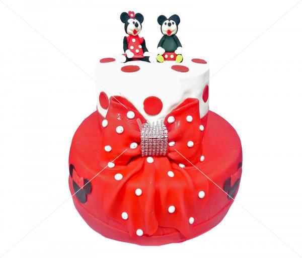 Տորթ «Միկի և Միննի» Kalabok Cake