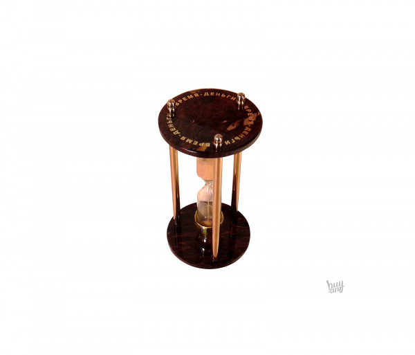 Ավազե ժամացույց օբսիդիան «Կլոր»