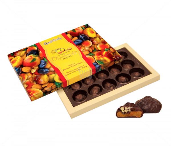 Կոնֆետների ընտրանի «Շոկոլադապատ ծիրանաչիր ընկույզով» Grand Candy