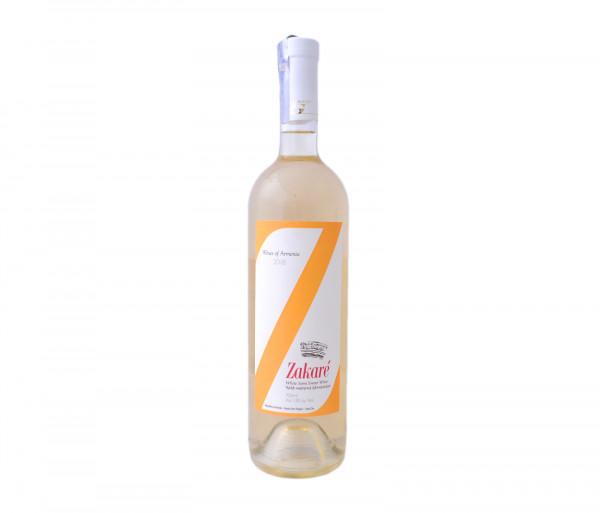 Զաքարե Սպիտակ կիսաքաղցր գինի 0.75լ