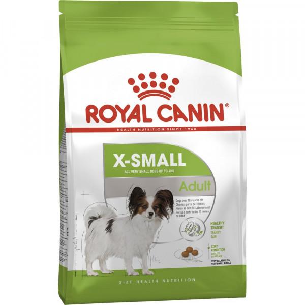 Շան չոր կեր Royal Canin X-Small Adult 3 կգ