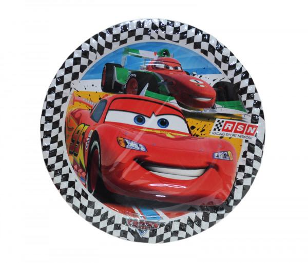 Ափսեներ «Cars» (8 հատ)