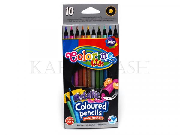 Մատիտներ գունավոր Colorino metallic 34678PTR