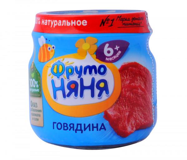 Ֆրուտո Նյանյա Խյուս Տավարի միս 80գ