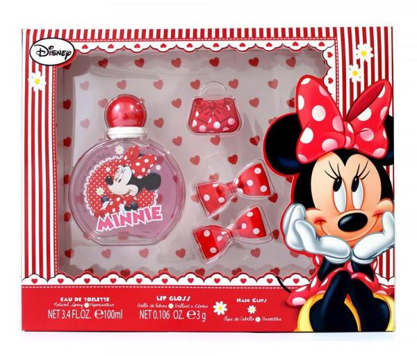 Օծանելիք, շրթներկ և մազերի ամրակ «Minnie Mouse» 100մլ Mankan Toys