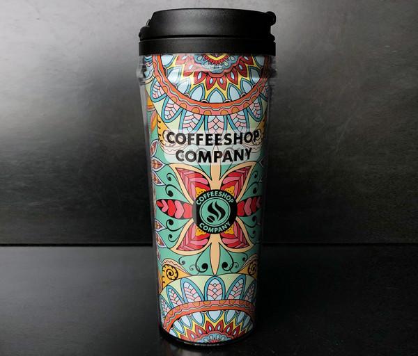 Ճամփորդական բաժակ Պլաստիկ COFFEESHOP COMPANY