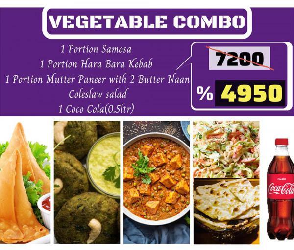 Բանջարեղենային կոմբո Կառմա Հնդկական Ռեստորան