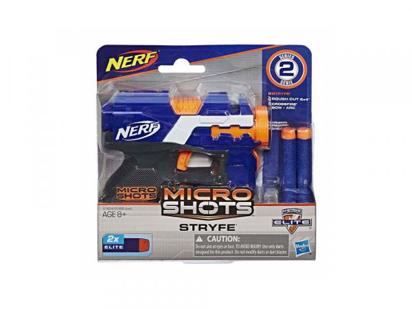 Hasbro Ատրճանակ՝ Փամփուշտով NERF MICROSHOTS «STRYFE SE2»