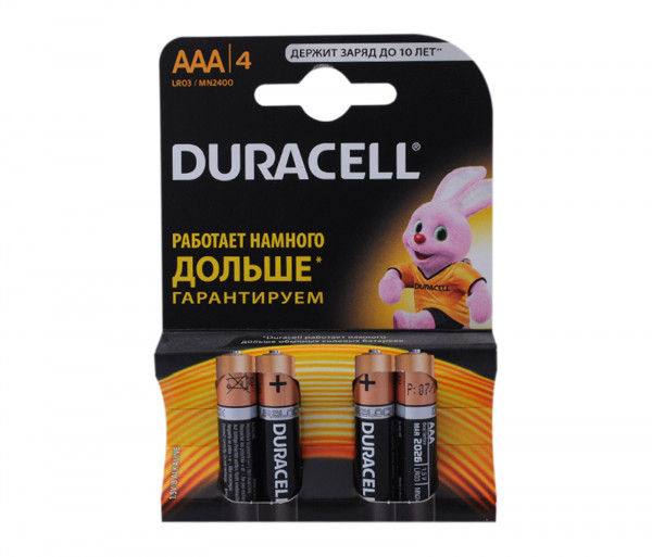 Duracell Baterry 3a Basic K+4