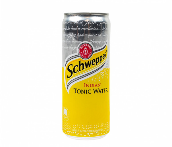 Զովացուցիչ ըմպելիք «Schweppes Tonic Water» 0.33լ
