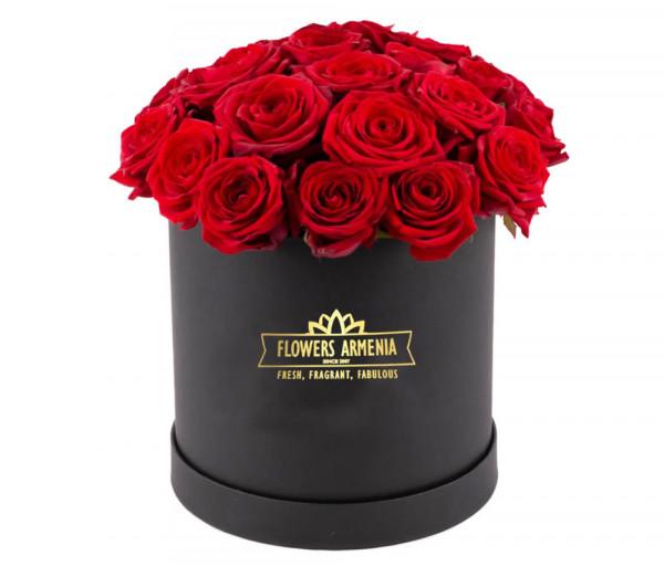 Ծաղկետուփ «Նուրբ և Հմայիչ» Flowers Armenia