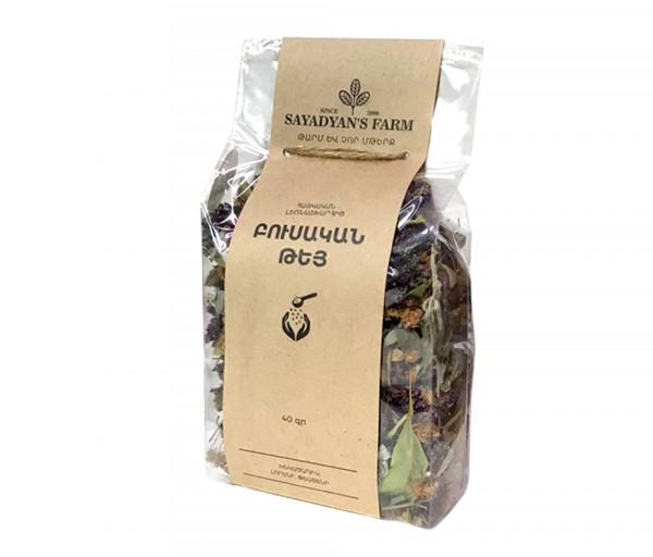 Բուսական թեյ «Sayadyan's Farm» Խնկածաղիկ, լորենի, փշատենի 40գ
