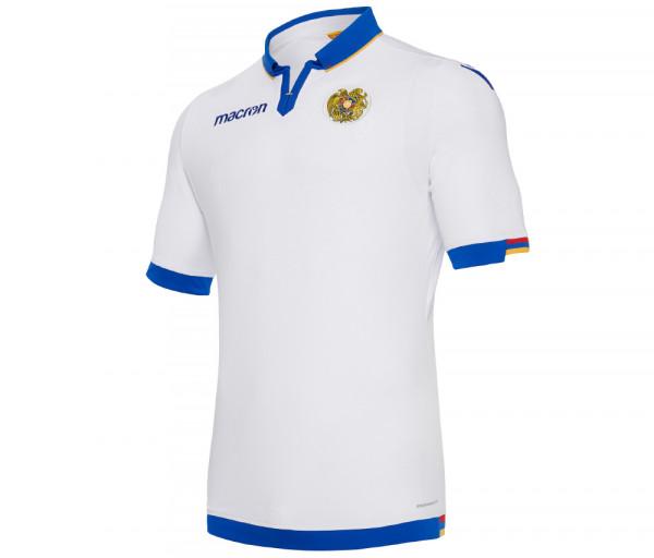 Հայաստանի հավաքականի խաղային շապիկ (սպիտակ)