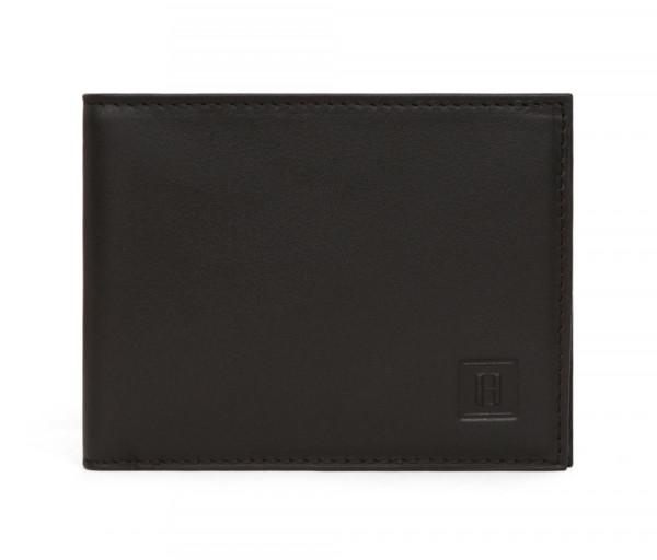 Տղամարդու կաշվե դրամապանակ Wallet Black Hexagona