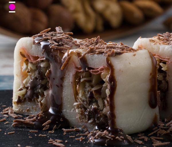 Քաղցր ռոլլ շոկոլադապատ Մուրակամի