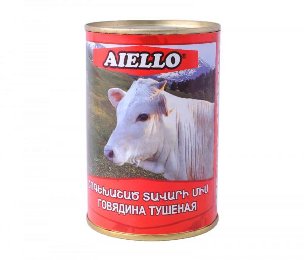 Աիելլո Շոգեխաշված միս 430գ