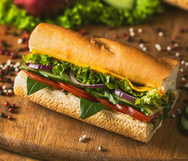 Բանջարեղենային սենդվիչ 15սմ 12 Կտոր Պիցցա