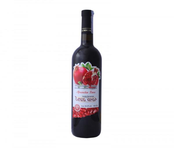 Ֆրանս Նռան կիսաքաղցր գինի 0.75լ