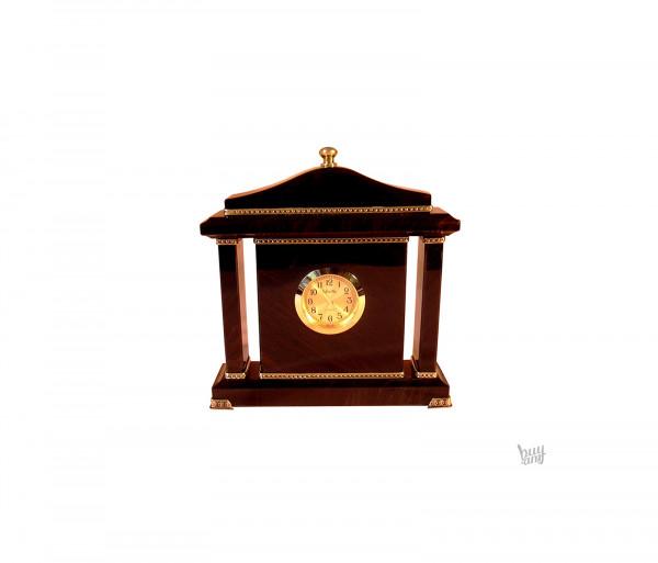 Սեղանի ժամացույց օբսիդիան «Քարե»