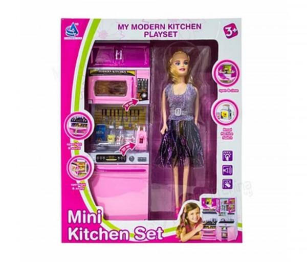 Barbie տիկնիկ խոհանոց