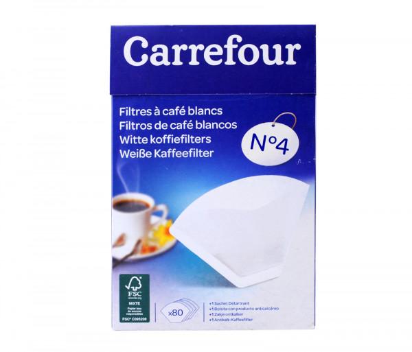 Քարֆուր Սուրճի Սպիտակ Ֆիլտր N4 X80