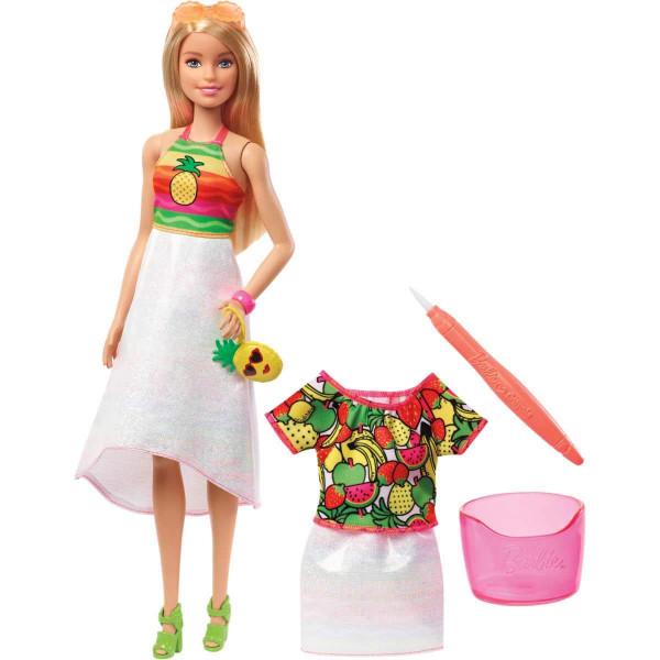 Տիկնիկ հավաքածու Ծիածանափայլ վարսեր Barbie