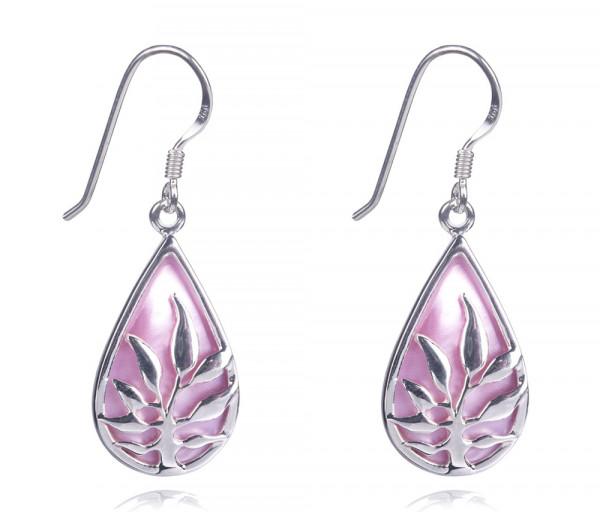Silver earrings SE268P