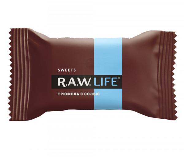 R.A.W. Life Տրյուֆել աղով 18գ