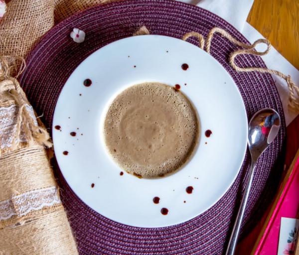 Պորտոբելո սնկով կրեմ-ապուր Պանացեա Սրճարան և Ռեստորան
