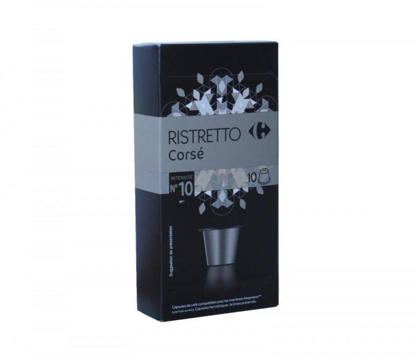 Քարֆուր Սուրճի կապսուլաներ Ռիստրետո x10